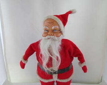 Vintage Santa Claus Figure Santa Decoration Santa Claus Doll Holiday Decor St Nicholas St Nick Indoor Christmas decor Santa decor