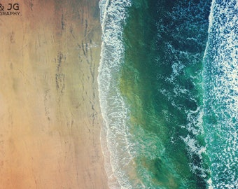 The Atlantic Ocean (beach, sea, ocean city, art, photography, gift)