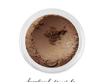 Golden Sable - Mineral Eyeshadow // Eyeshadow // Mineral Makeup // Brown Eyeshadow // Gold Makeup // Makeup Eyeshadow // Bronzer