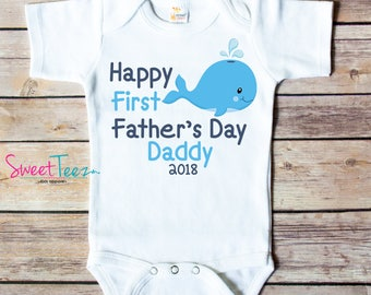 First Fathers Day Gift - First Fathers Day Shirt - Whale Shirt - Fathers Day Gift - Fathers Day Shirt - Fathers Day Gift From Son