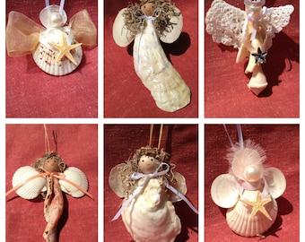 Shell Angel Ornaments