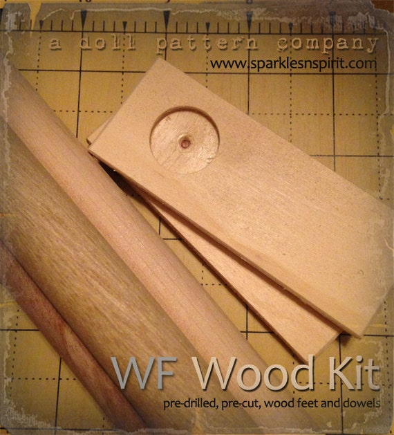 Woodkit - WF36 for Doll patterns by Sparkles n Spirit