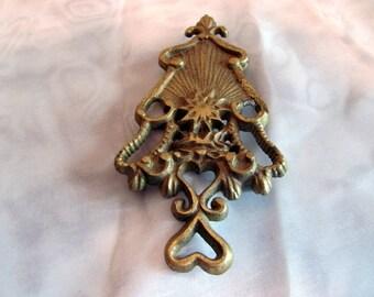 Brass Wilton Christmas Tree Trivet