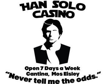 Han Solo Star Wars Casino SVG