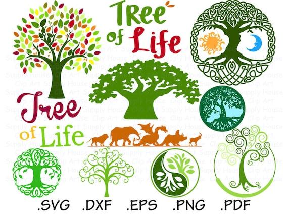 Tree SVG Clipart Cricut Design File Tree of Life SVG