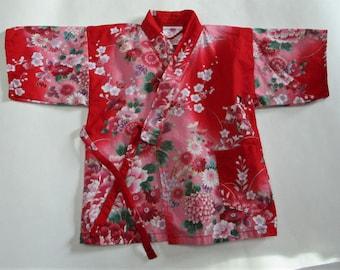 Vintage Japanese Baby/Small Toddler Kimono