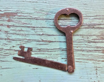 Steel Folding Jail Key