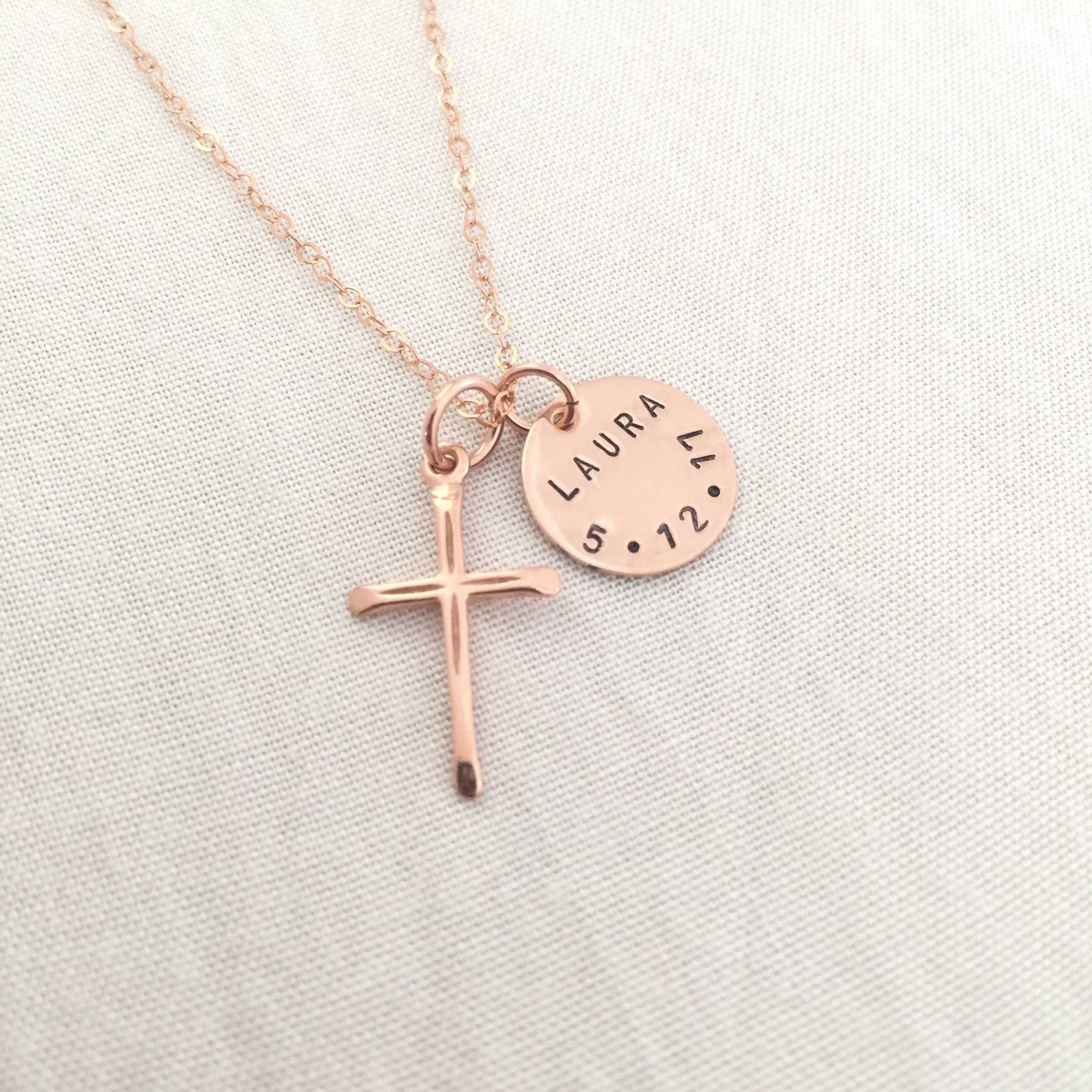 girls remembered religious wid personalized at pave heart things baptism category cross and necklace jewelry
