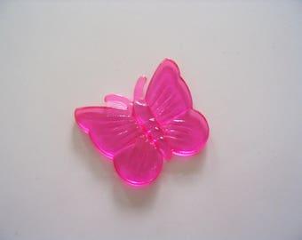 Acrylic butterfly fuschia