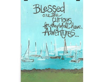 Blessed are the curious - Poster