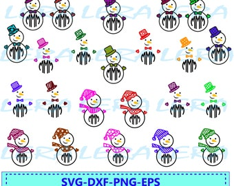 60 % OFF, Snowman Monogram Frame Svg, Eps,Ai,Dxf,Christmas Snowman Svg, Circle Monogram Frame, Digital Cut File, Winter,  Vector, Silhouette