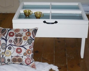 """Coffee table """"Old window"""" * sold *."""