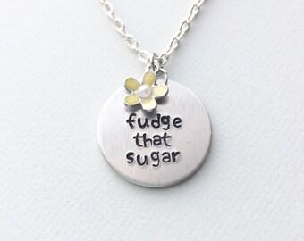 Unbreakable Kimmy Schmidt, Fudge That Sugar, Kimmy Schmidt, kimmy schmidt jewelry, kimmy schmidt necklace, gift ideas, unbreakable