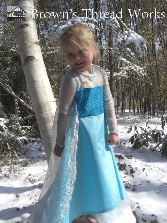 Elsa Dress Disney Elsa Snow Queen Celtic Renaissance