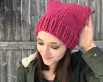 Knitty Cat Hat