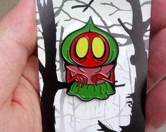 Flatwoods Monster Glow in the Dark Enamel Pin - VERY FEW LEFT!