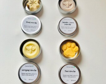 Lemongrass Lotion Bar / Lotion Bar / Non-greasy Lotion Bar / Solid Butter Bar / Wedding Favors