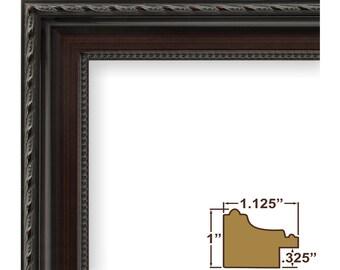 Craig Frames, 5x7 Inch Dark Walnut Picture Frame, Annesbury (64050507)