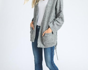 Cardigan with lose sleeves