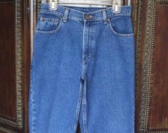 Vtg High rise jeans / 28 waist / free shipping