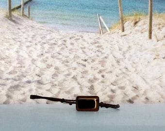 Bracelet-Glass bead-Surferarmband-pearl-beach-yoga-outdoor-fitness-unisex-Silvana-beach-jewellery-Beach poems