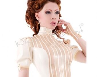 Maîtresse-en-Titre Femme latex Dress R1269 Westward Bound Couture