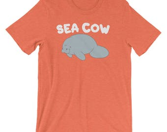 Sea Cow Manatee Shirt, Floaty Potato Mermaid Sea Cow Tee Shirt, Funny Chubby Sea Cow Shirt, Cute Manatee Sea Cows Love Gift Shirt