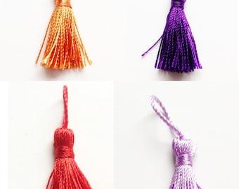 Silk tassel 3,5-5,5cm