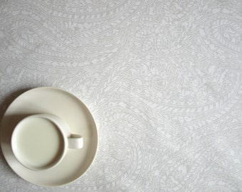 Table runner white light pale grey , also napkins available, great GIFT