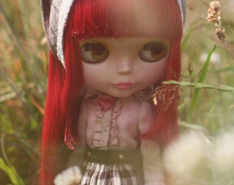 Blythe Doll E Pattern Japanese PDF Blouse Apron Petticoat Skirt Neckerchief