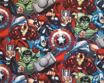 Avenger Superhero Crib/Toddler Bed Fitted sheet/ Marvel Bedding/ Super hero bedding/Comic bedding / Kids bedding
