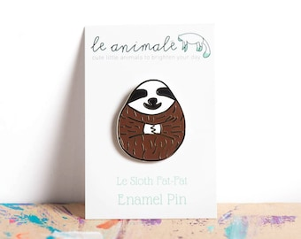 SALE Sloths Sloth Pin Cute Enamel Pins