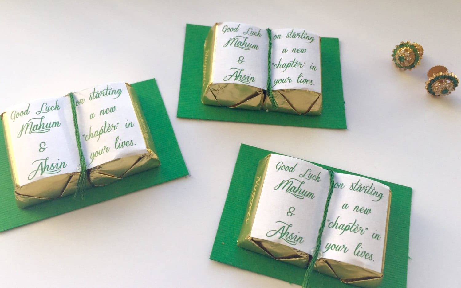 Bridal Shower Favors, Personalized wedding favors, Graduation favors ...