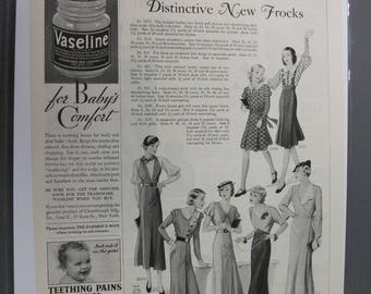 131  Distinctive new frocks   Ad From  Feb 1933   Farmers Wife  Mag.
