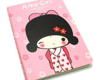 1 kawaii geisha notebook