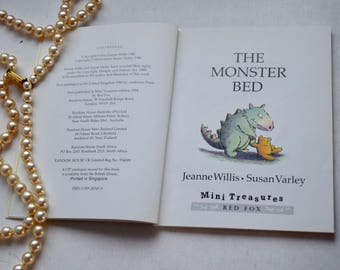Three Books inc' Nursery Rhyme Book, The Monster Bed, Little Bear's Trousers