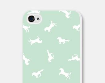 Horse iPhone 5s Case - Horse iPhone 6 Case - Horse iPhone Case Mint iPhone Case Horse iPhone 5c Case Horse iPhone 5s Case Samsung Galaxy S6
