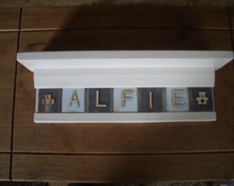 Personalised Shabby Chic Shelf