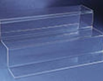 Acrylic Three Level Clear Displayer #1014C