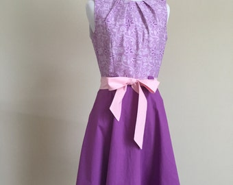 Rapunzel Fit and Flare Dress