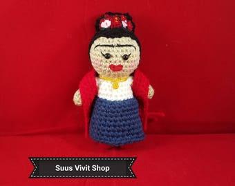 Frida Inspired Amigurumi Doll Ready to Ship!!