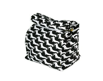 Insulated lunch bag with handle - Dogs