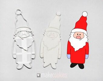 Santa Claus 4 Cookie Cutter
