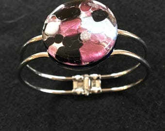 One of a kind, Murano Glass Bracelet imported from Italy!