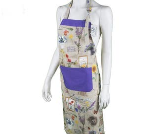 Garden apron allover