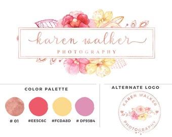 Rose Gold Photography logo - Karen Walker - Watermark 004