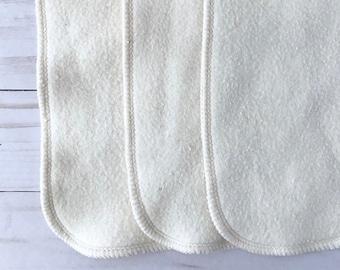 12 Organic bamboo cotton diaper inserts, super soft!