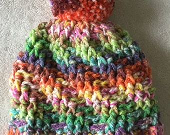 Crayon Box Chunky Textured Hat