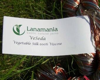 Remnants-Lanamania VeSeda fingering yarn (vegetarian silk)-100gram Strand
