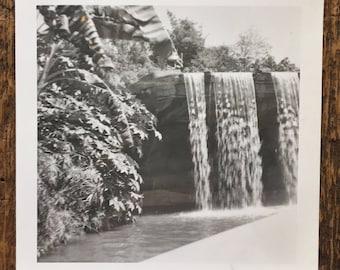 Original Vintage Photograph The Waterfall